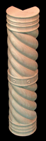 Image Corner Column - Spiral