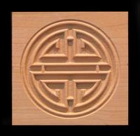 Image Corner Block - Prosperity Symbol