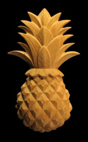 Image Onlay - Pineapple Wood Carving