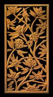 Image Panel - Plumeria Blossoms