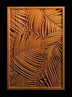 Image Panel - Palm Fronds