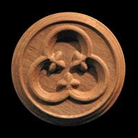 Image Rosette - Gothic Trefoil