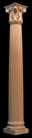 Image Wooden Column Full or Half Round - Corinthian 6