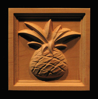 Image Corner Block - Kona Pineapple