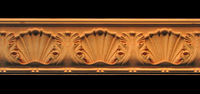 Image Moulding - Large - Acanthus w Shell