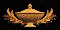 Image Onlay  - Classic Urn