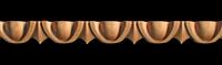 Image Onlay Molding - Egg and Dart - 1 5/8