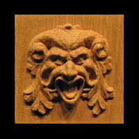 Image Plaque - Green Man