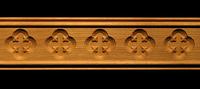 Image Moulding - Gothic Quatrefoil Florets
