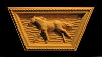 Image Keystone - Running Horse