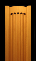 Image Pilaster - Fluted, Rounded