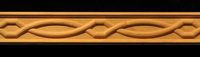 Image Frieze Molding - Chain Weave