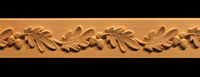 Image Frieze Onlay - Oak Leaves & Acorns - Onlay