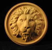 Image Medallion - Regal Lion