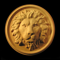 Image Medallion - Regal Lion