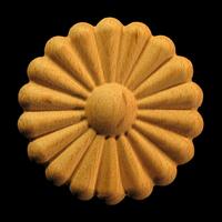 Image Onlay  - Sun Daisy - Round