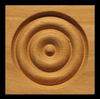 Image CLEARANCE - Corner Block - Bullseye - 3.5
