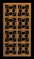 Image Carved Grille