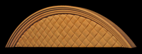 Image Arched Woven Panel