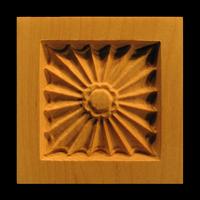 Image Corner Block - Square Fan