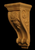 Image Corbel - Rose - 12T x 5W x 6D
