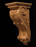 Image Corbel - Oak Leaves - 7.5W x 18L x 9D