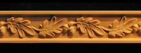 Image Frieze Moulding - Oak Leaves & Acorns