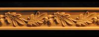 Image Frieze Moulding - Oak Leaves & Acorns