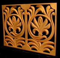 Image Contemporary Palmette Panels