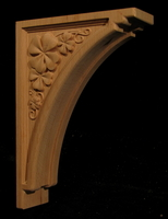 Image Carved Bracket - Shamrock - 10T x 7D x 2.5W