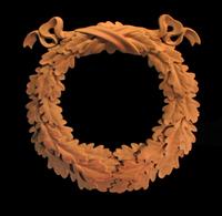 Image Oak Leaf Wreath - Onlay