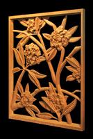 Image Plumeria Pierced Panel