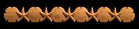 Image Onlay - Sand Dollar and Starfish
