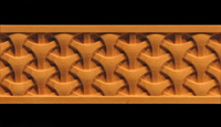 Image Decorative Frieze Moulding - 3D Weave
