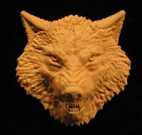 Image Onlay - Wolf