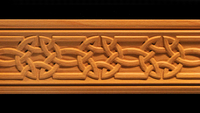 Image Moulding - Celtic Knot Carvings