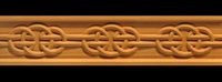 Image Frieze Moulding - Celtic Round Knot