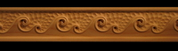 Image Decorative Frieze Moulding - Waves
