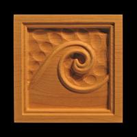 Image Corner Block - Wave