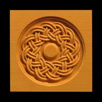 Image Corner Block - Celtic Round Weave