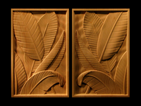 Image Tropical Leaf Panel