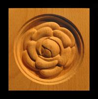 Image Corner Block - Camellia