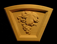 Image Keystone - Wine Grapes Arched