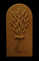 Image Panel - Wheat with Ribbon