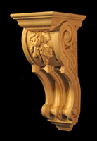 Image Corbel - Oak Leaves - 5W x 12T x 6D