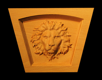 Image Keystone - Regal Lion - Flat Top