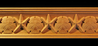 Image Crown Molding - Starfish and Sand Dollar