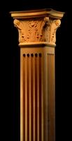 Image Square Corinthian Column