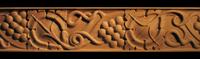 Image Liturgical Grapes Frieze