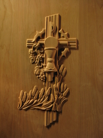 Image Carved Liturgical Panel 1